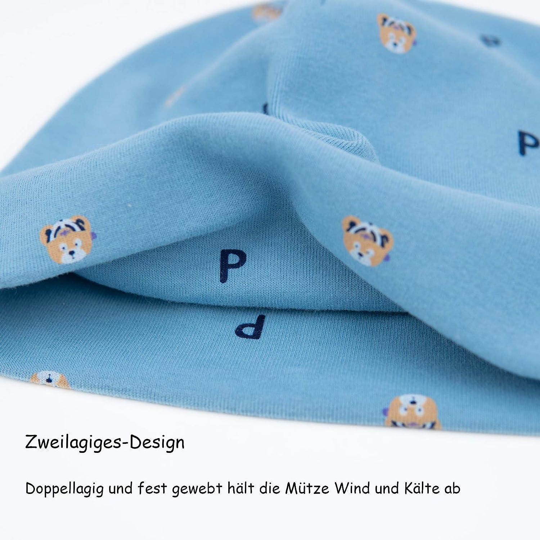 Foruhoo Baby Winterm/ütze M/ädchen /& Jungen Strickm/ütze Beanie Warm M/ütze mit Ohrenklappen/…