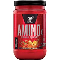 BSN Amino X Muscle Recovery & Endurance Powder with BCAAs, 10 Grams of Amino Acids...