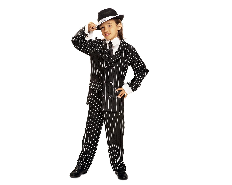 My Other Me - Disfraz de Gánster, talla 5-6 años (Viving Costumes ...