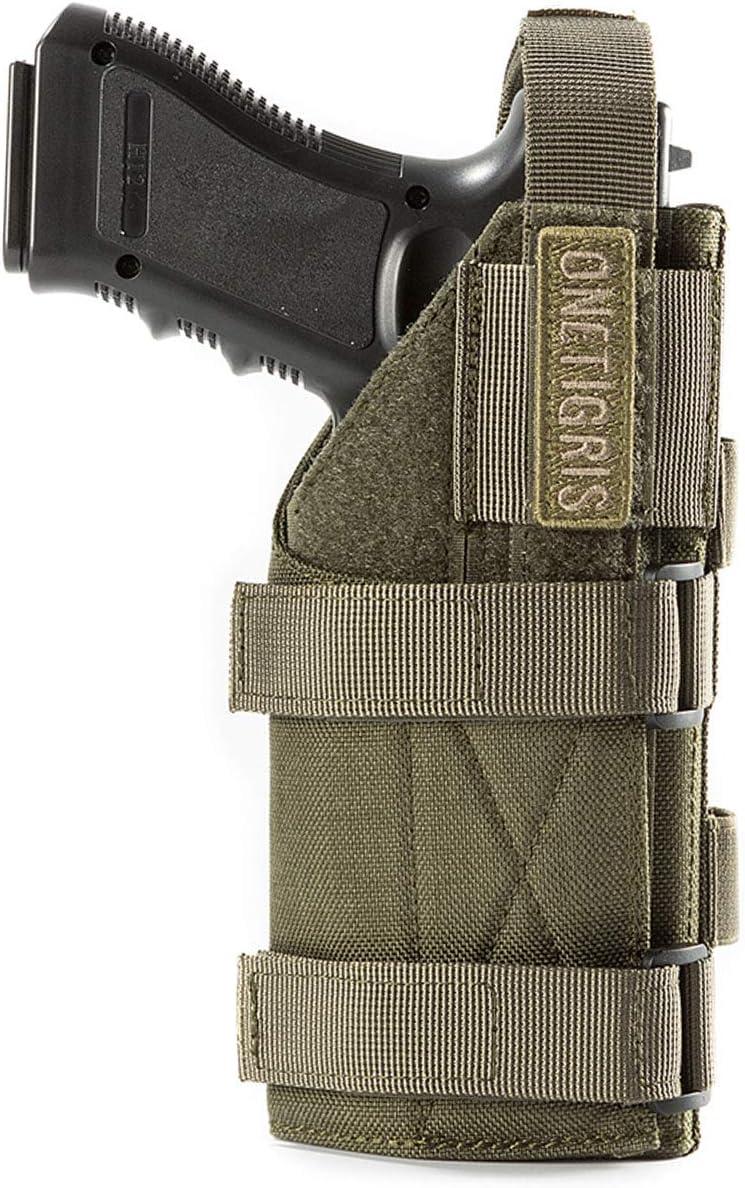 Funda táctica de nailon para pistolas, cinturón de pistola OneTigris 1000D