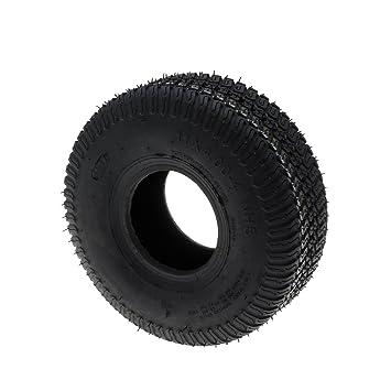 Neumático 4 pliegues Dimensions 11 x 400 x 4 para cortacésped con asiento: Amazon.es: Jardín