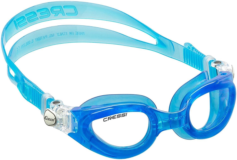 e34bfe136cdd7 Cressi Right Small Schwimmbrille mit Antibeschlag und 100% UV Schutz +  Tasche: Amazon.de: Sport & Freizeit