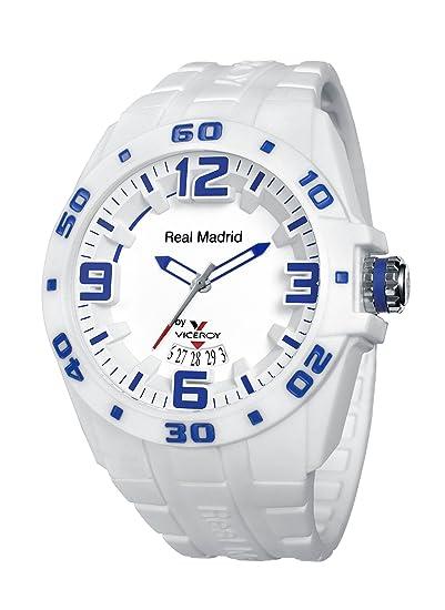 Reloj oficial del Real Madrid Hombre 432851-00 Viceroy Blanco