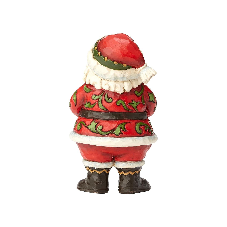 Enesco Jim Shore Heartwood Creek Pint Sized Jolly Santa