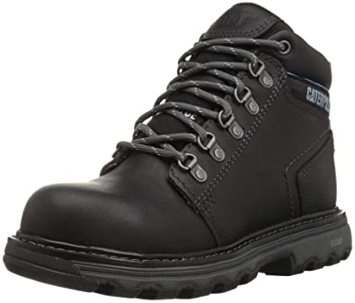 Amazon.com | Caterpillar Women's Ellie Steel Toe / Black Work Boot ...