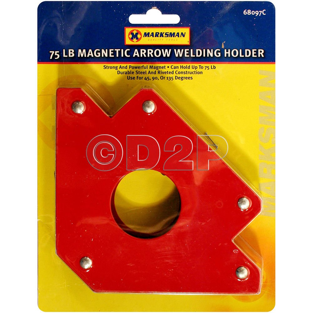 3 X 75lb MAGNETIC WELDING HOLDER ARROW MAGNET 3 ANGLES SOLDER SOLDERING HOLD