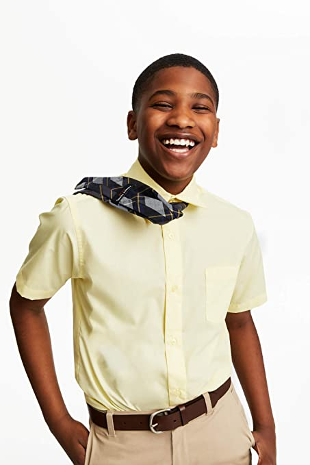 French Toast Boys Adjustable Solid 14-20 Size Tie