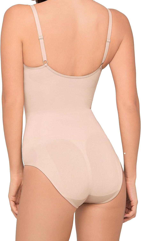 Body Wrap Regular Pin Up Nude Underwired Bodysuit 44001