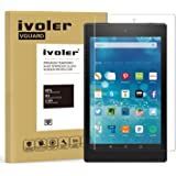Pellicola Vetro Temperato Nuovo Fire HD 8 [2017 Version] / Fire HD 8 [2016 Version] / Fire HD 8 [2015 Version], iVoler ** [Protezione Antigraffi] **Anti-riflesso Ultra-Clear** Ultra resistente in Pellicola, Pellicola Protettiva Protezione Protettore Glass Screen Protector per Nuovo Fire HD 8 [2017 Version] / Fire HD 8 [2016 Version] / Fire HD 8 [2015 Version].Vetro con Durezza 9H, Spessore di 0,3 mm,Bordi Arrotondati da 2,5D - Garanzia a Vita