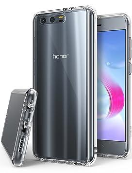 Ringke Funda Huawei Honor 9, [Fusion] Transparente al Dorso del PC y Frente al TPU [Tecnologia para Proteccion a la Caida] Carcasa Protectiva con ...