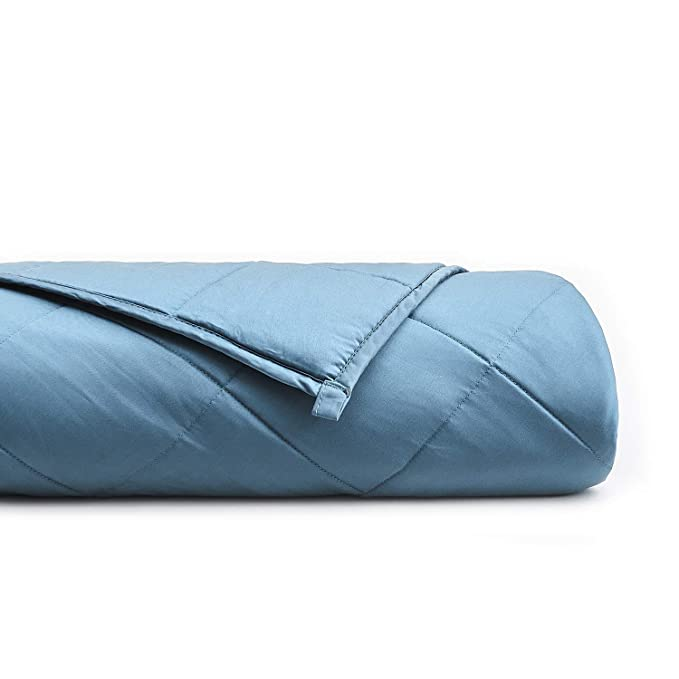 YnM Cooling Weighted Blanket - Comfortable and Helps With Sleep