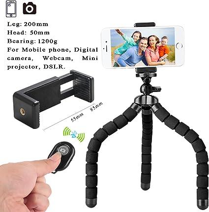 Trípode Flexible para móvil de tamaño Grande para iPhone con ...