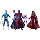 "Marvel Legends Series 6"" Family Matters 3 Pack with Magneto, Quicksilver, & Scarlet Witch Action Figures (Amazon…"