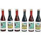 Timeless Miniatures-Wine Bottles 6/Pkg
