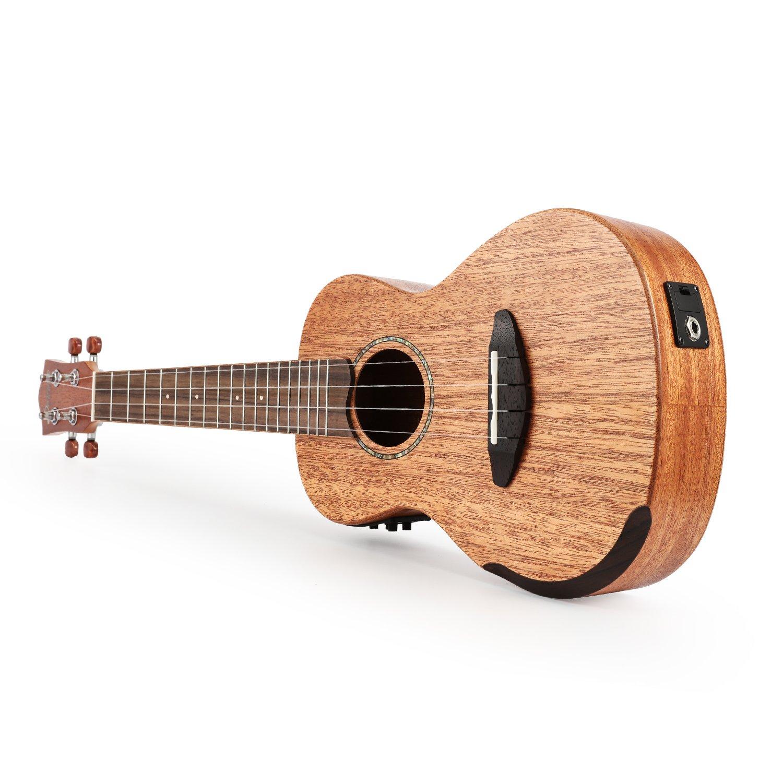 donner solid electro acoustic ukulele electric concert