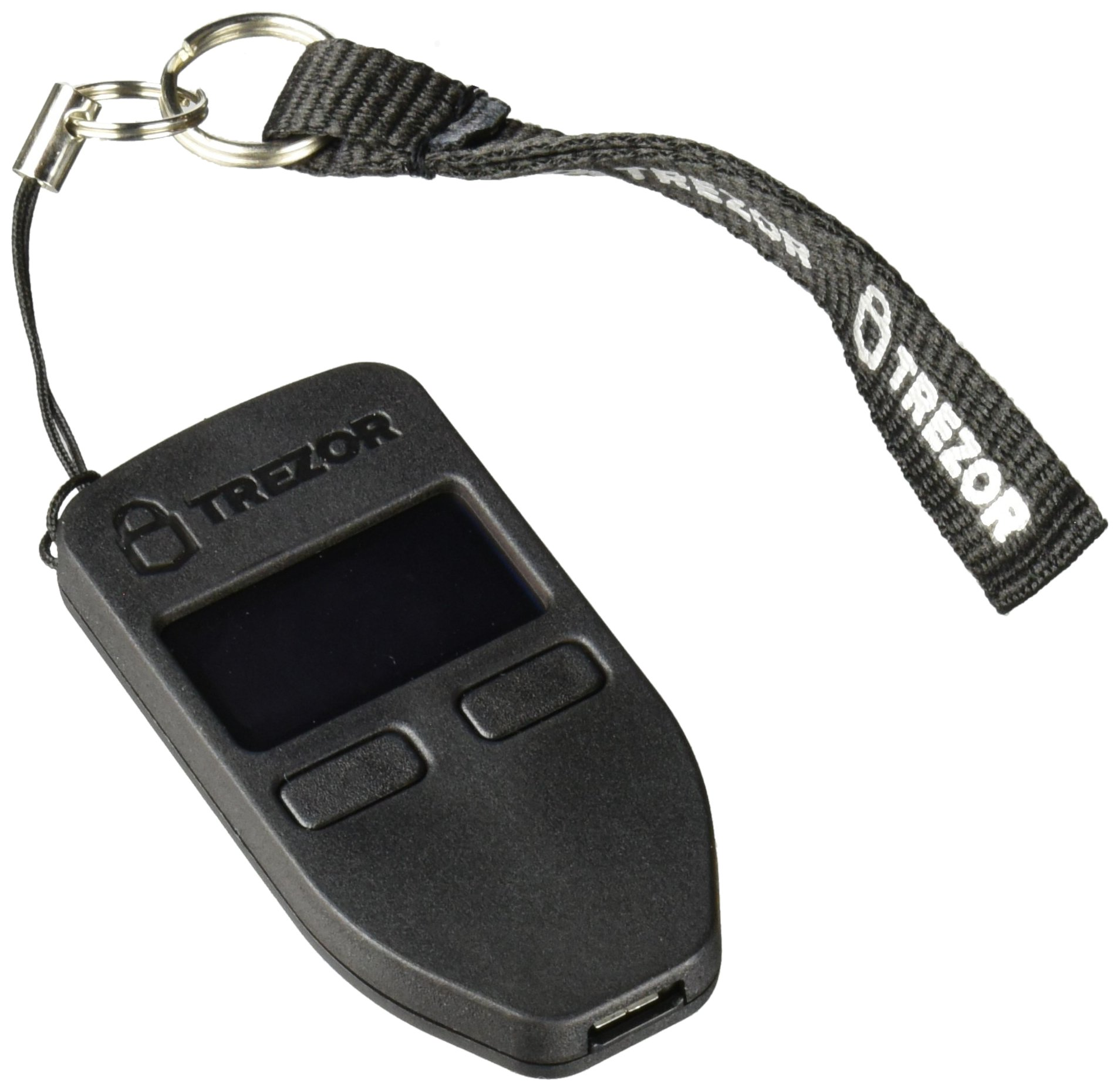 Trezor bitcoin wallet, Black by Trezor (Image #1)