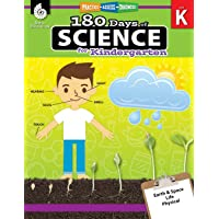 180 Days of Science: Grade K - Daily Science Workbook for Classroom and Home, Cool...