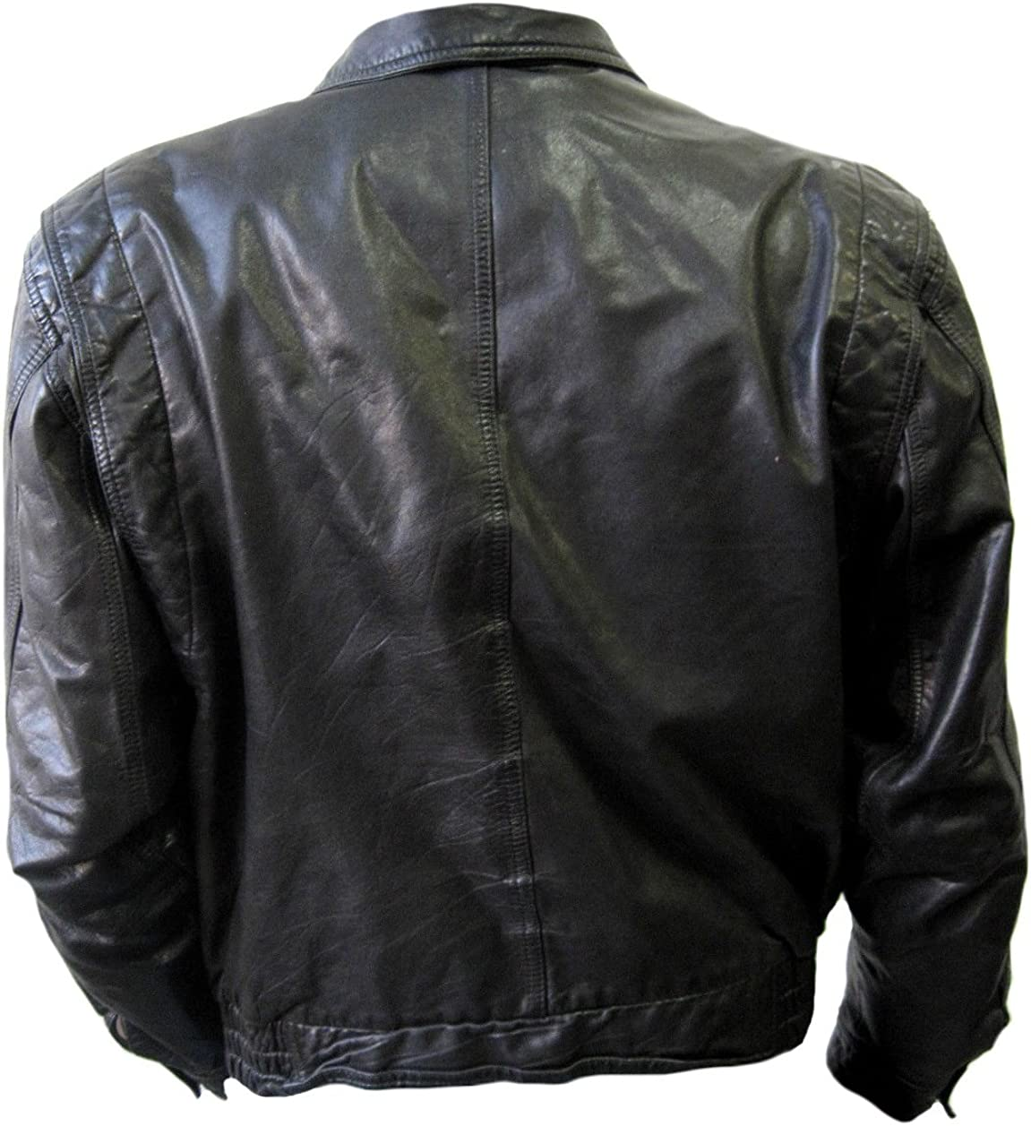 Classyak Mens Fashion Stylish Real Leather Jacket
