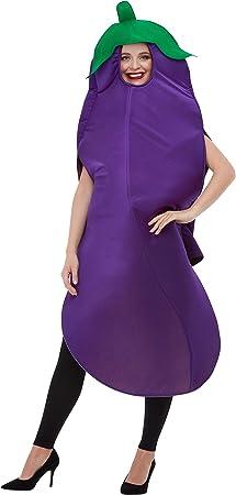 Smiffys Aubergine Costume Disfraz de berenjena, color morado, talla única (50717): Amazon.es: Juguetes y juegos