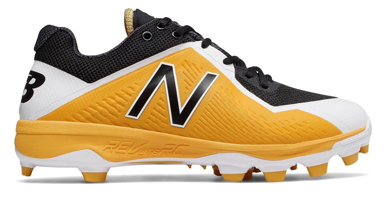 (ニューバランス) New Balance 靴シューズ メンズ野球 TPU 4040v4 Black with Yellow ブラック イエロー US 6 (24cm) B075P1WSJQ