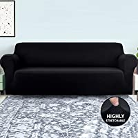 Sofa Slipcover, Home-Mart High Spandex Stretch Elastic Fabric Sofa Cover Washable Furniture Protector Couch Covers for…