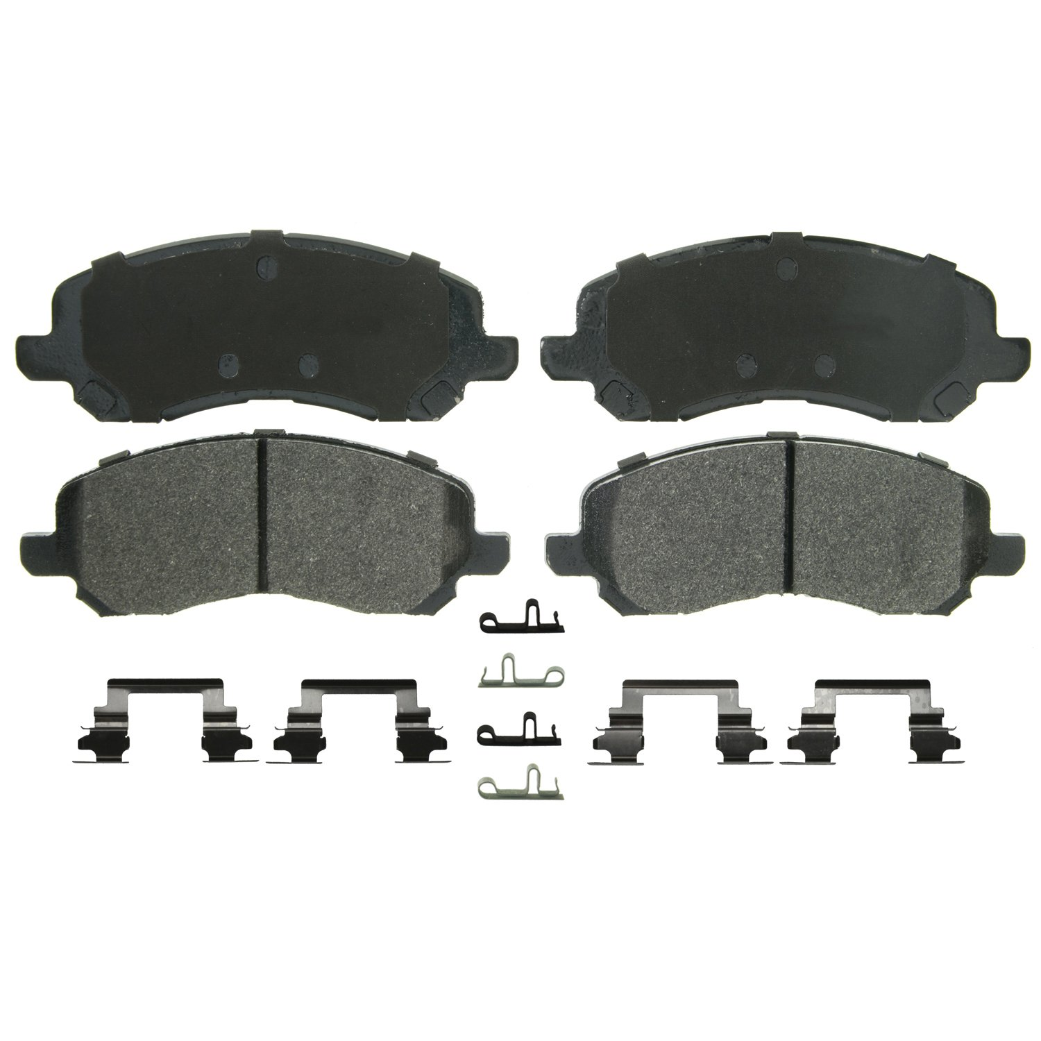 Rear Wagner QuickStop ZD1037 Ceramic Disc Pad Set