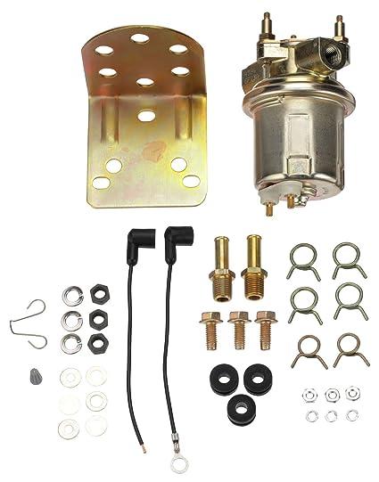 Amazon com: Carter P4594 In-Line Electric Fuel Pump: Automotive