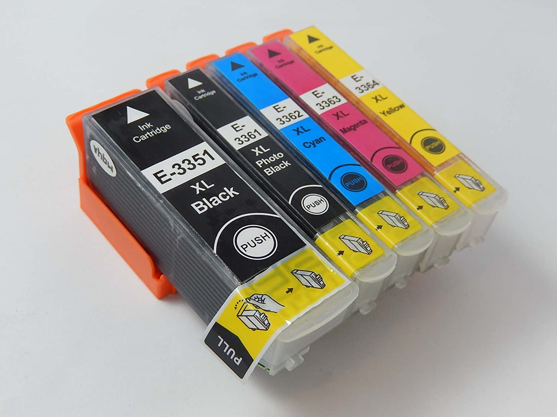 Set de Cartuchos de Tinta vhbw para Impresora Epson Expression ...