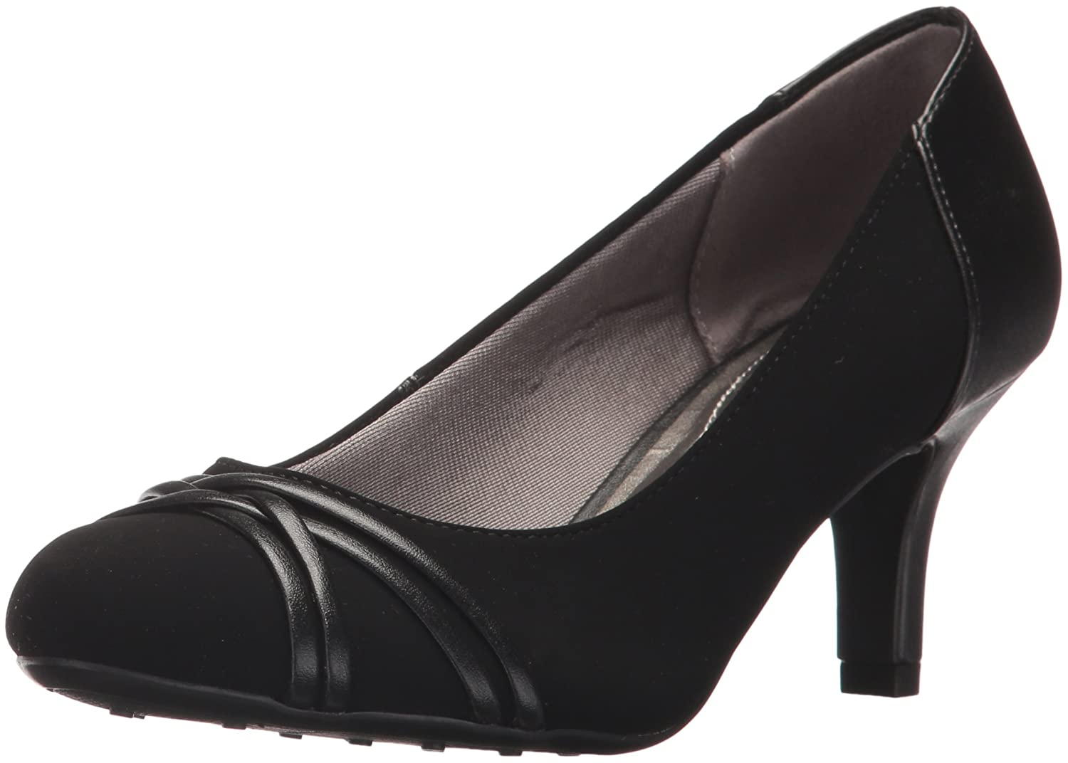 LifeStride Women's Pascal Dress Pump B07325BX7X 9.5 B(M) US|Black