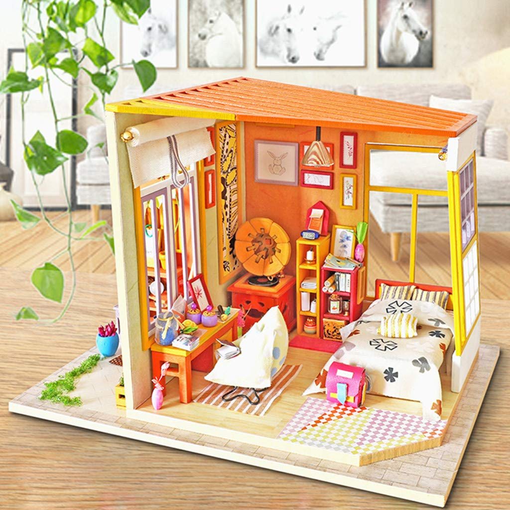 ForgetMe Toy DIY 3D Dollhouse Paper Miniature Furniture Kit