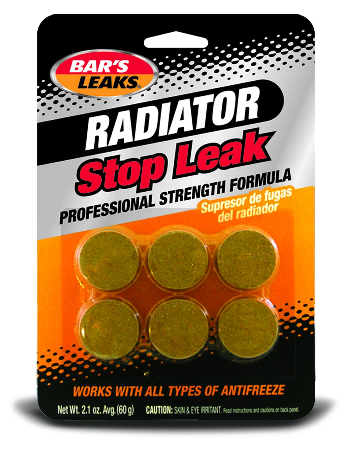 Bar's Leaks HDC Radiator Stop Leak Tablet - 60 grams Bar' s Leaks