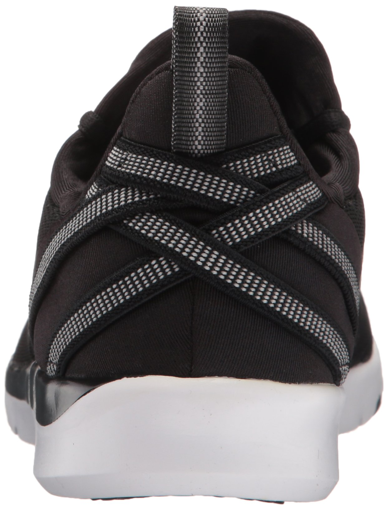ASICS Women's Gel-Fit Sana 3 Cross-Trainer Shoe, Black/White/Silver, 8.5 M US by ASICS (Image #2)