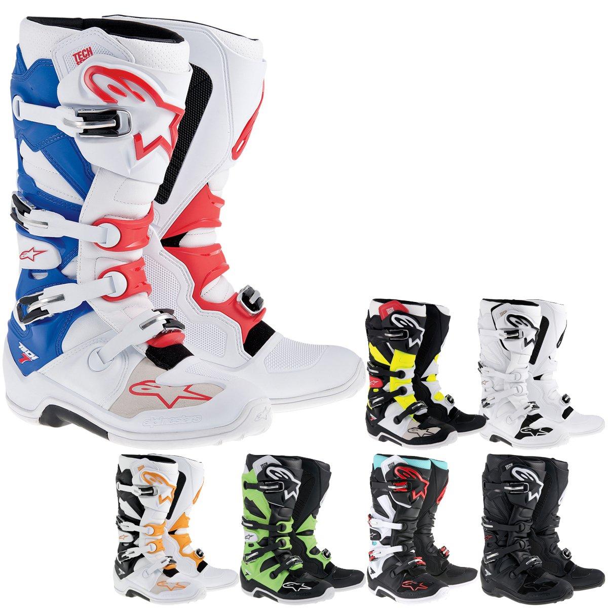 Alpinestars Tech 7 Boots-White-6 B00ENZZDOQ 6