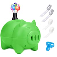 LIKEE Electric Balloon Pump Portable Balloon Inflator Air Blower with Balloon Arch &Garland Kit for Party Decoration…