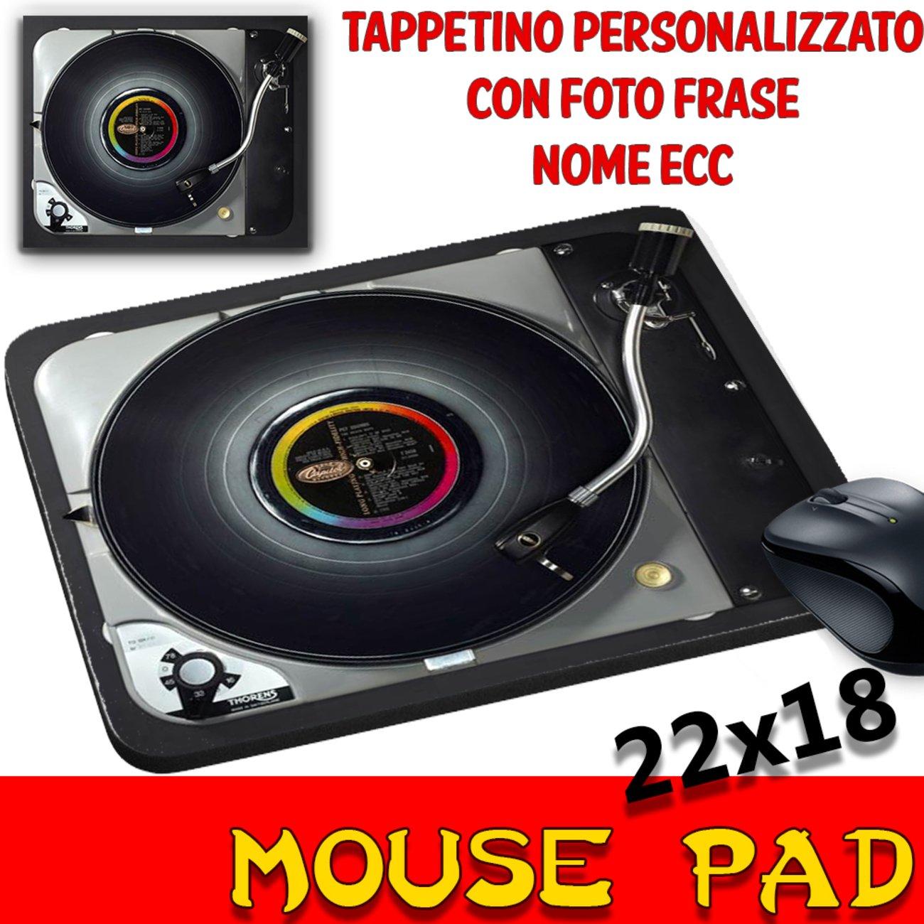 Ratón Pad vinilo disco Vintage tocadiscos alfombrilla ...