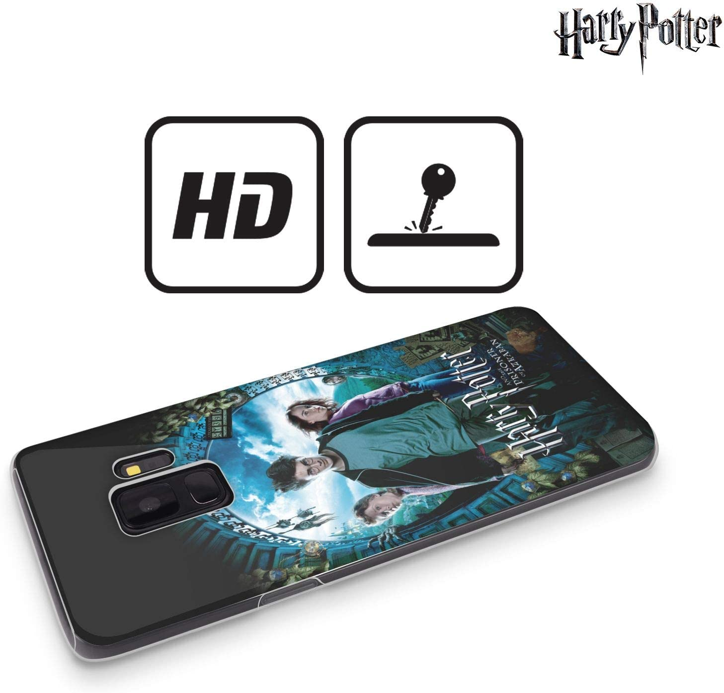 Officiel Harry Potter Ron Harry & Hermione Poster Prisoner Of Azkaban IV Coque en Gel molle pour Samsung Galaxy J5 (2017)