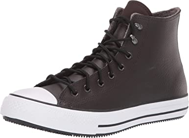 Converse Women's Chuck Taylor All Star Water-Resistent Leather High Top Fashion Boot