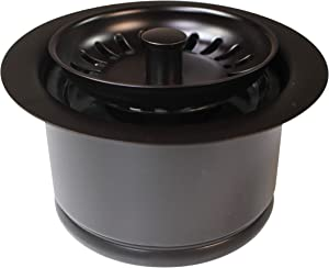 Westbrass InSinkErator Style Extra-Deep Disposal Flange & Strainer, Oil Rubbed Bronze, D2082S-12