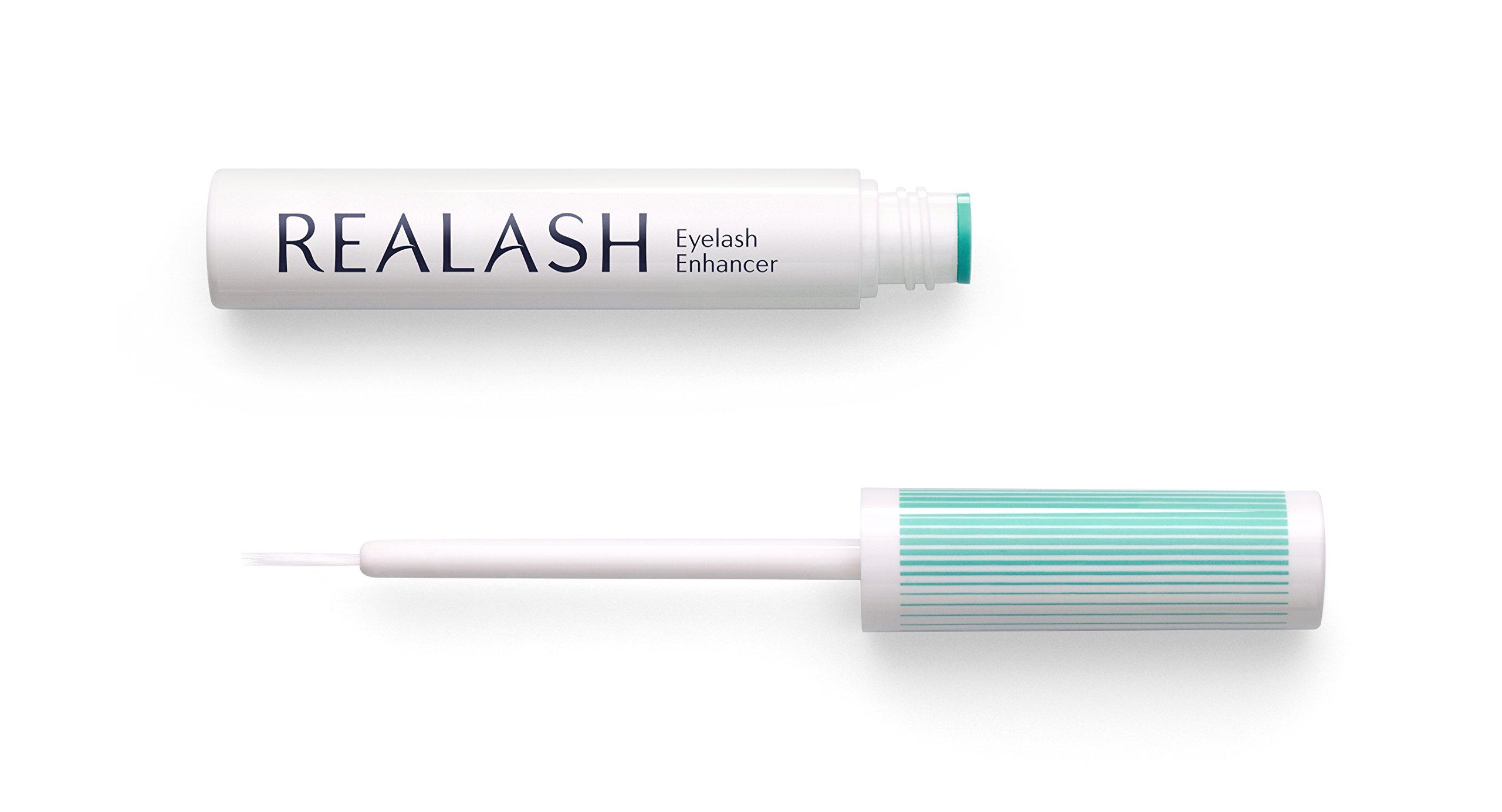 REALASH Eyelash Enhancer Enhancement Longer and Thicker Lashes Growth Serum 3ml by Orphica Essential