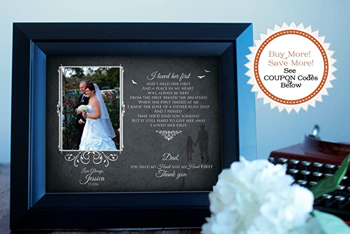 Amazoncom I Loved Her First Wedding Thank You Gift For Dad
