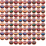 96 Count K-Cup Variety Pack 15 Distinct Beantown Roasters Coffees No Decaf for Keurig Brewers