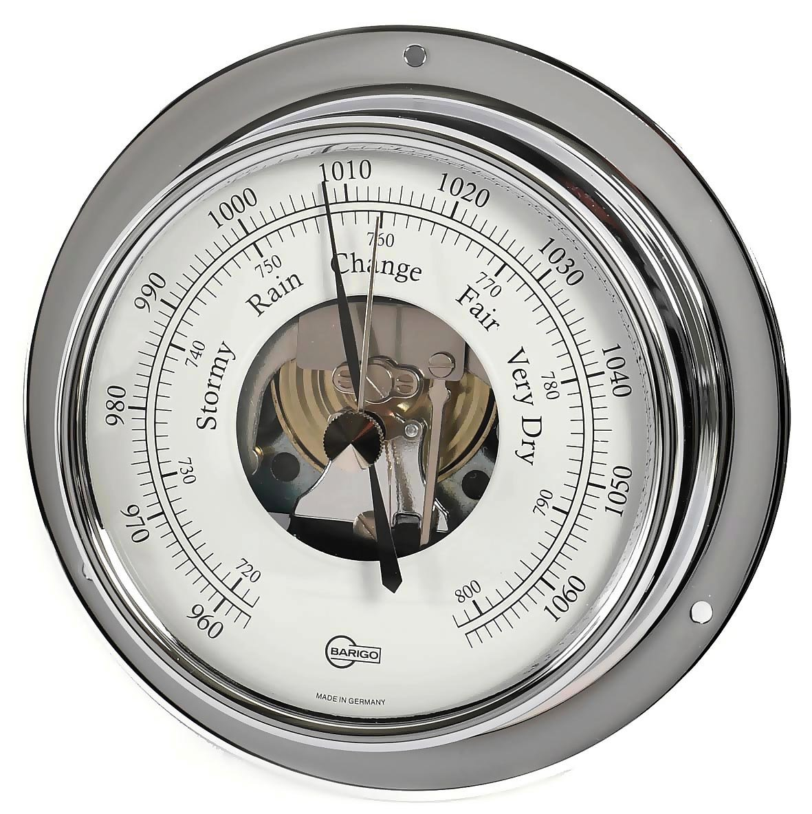 Barigo Tempo Chrome Barometer 183cr