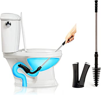 ToiletShroom Revolutionary Plunger with Caddy Holder