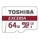 Toshiba Exceria M302 64GB Micro SD Memory Card 90 MB/s 4K - THN-M302R0640EA