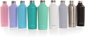 BINO 'Flask' Double Wall Vacuum Insulated 17 oz Stainless Steel Water Bottle