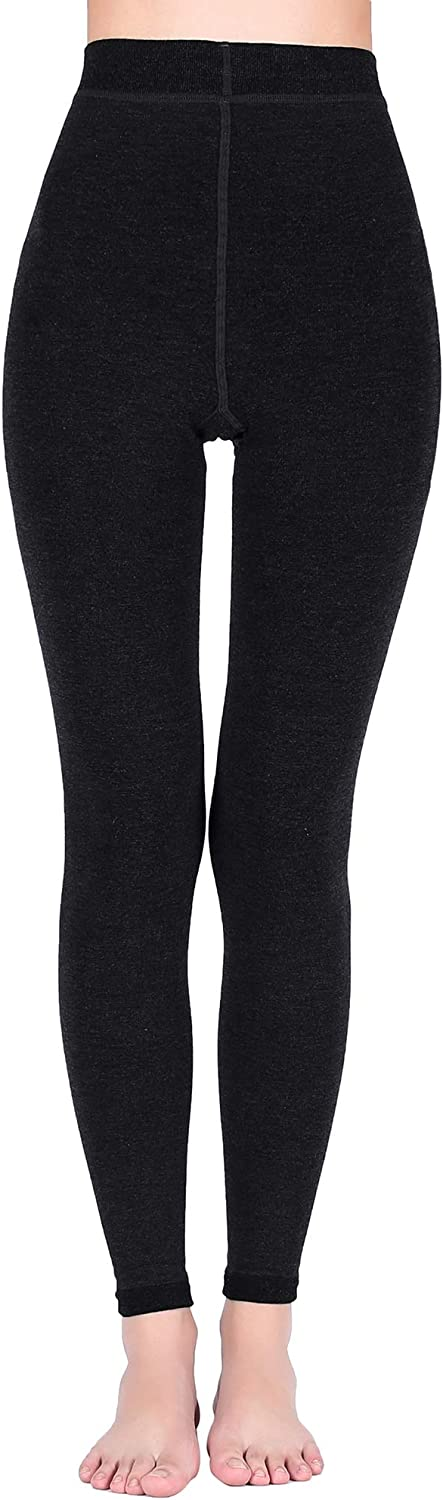 5 Degrees Plus Winter Thermal Opaque Breathable Tights Leggings Sofies Womens Fleece Lined Footless Tights Leggings