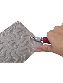 Speedball Unmounted Linoleum Block, 3 X 4 Inches, Gray