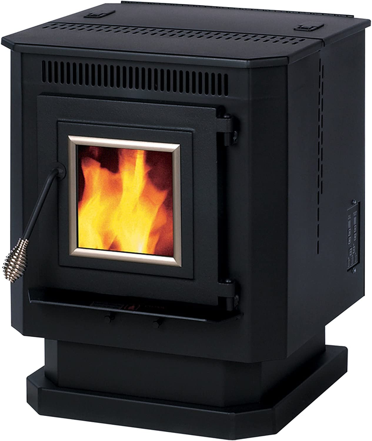 B000AMC600 Summers Heat 55-SHP10 Pellet Stove 1,500 Square Foot 71KV7YwG9ML.SL1500_