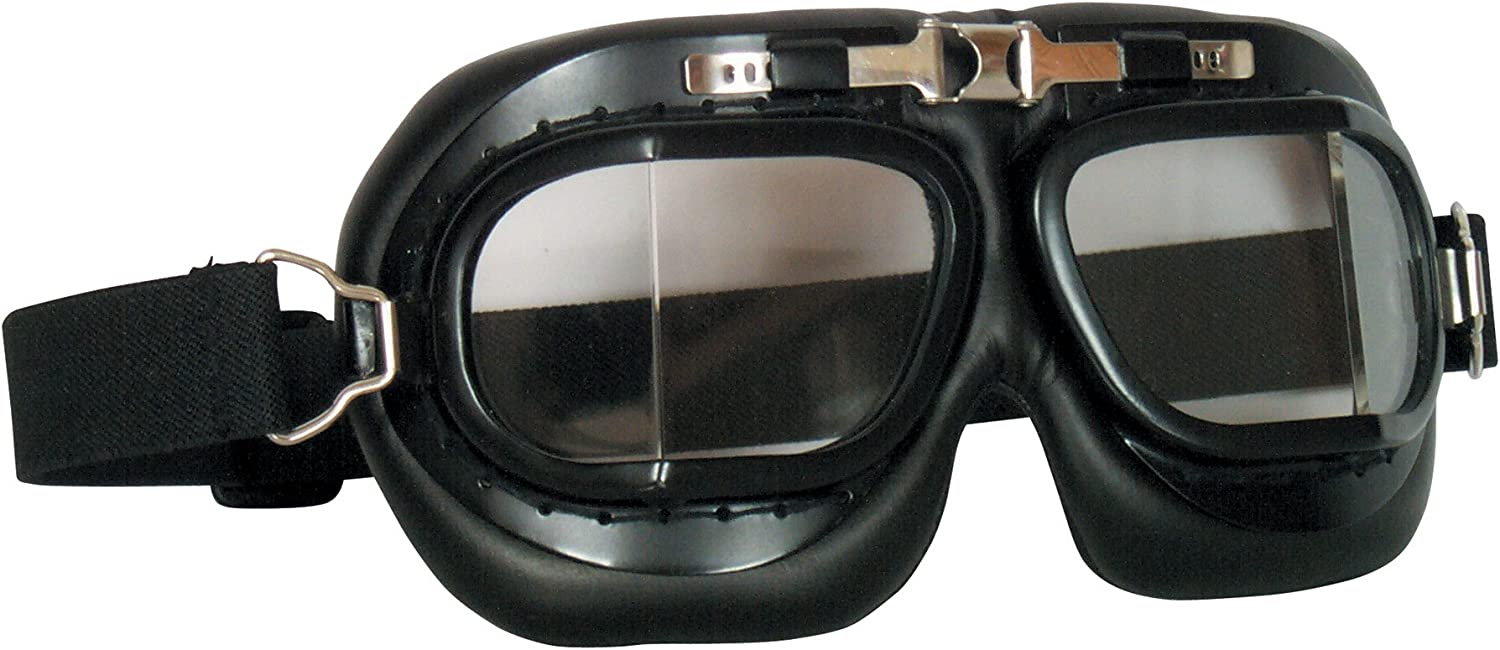 Fox Outdoor 90-299 Royal Air Force Style Goggles Chrome
