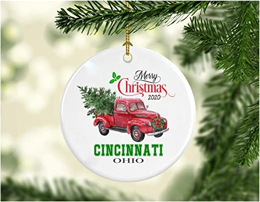 Where Did Cincinnatis Christmas Tree Come From In 2020 Amazon.com: Christmas Decoration Tree Merry Christmas Ornament